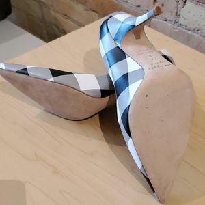 kate spade Shoes - Kate Spade New York Buffalo Plaid Pumps